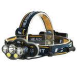 Оригинал XANES2606-51300LMXML-T6+2 * XPE + 2 * COB 8 режимов Кемпинг Bicycle Headlamp Need 2 * 18650 Батарея USB аккумуляторная