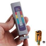 Оригинал AA AAA 1.5V 9V Lithium Батарея Тестер Цифровая кнопка Батарея Контроллер мощности для измерения мощности Инструмент