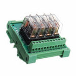 Оригинал 4-канальный релейный модуль Omron PLC Контроллер усилительной панели DC 12V TKG2R-1E-K424