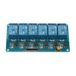Оригинал BESTEP 6-канальный 24-вольтовый реле с низким уровнем триггера с изоляцией оптопары для Arduino