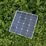Оригинал Elfeland® EL-32 50W 18V Монокристаллическая полугибкая панель Солнечная с кабелем 1,5 м