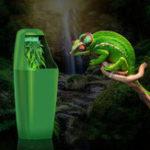 Оригинал Фильтр питьевой воды рептилий Fountain Feeding Chameleon Lizard Диспенсер Terrarium 220-240V AC
