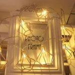 Оригинал 1.5M 3M Батарея Эксплуатировать теплую форму белого железа Diamond LED String Holiday Light для новогоднего декора