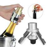 Оригинал 2шт из нержавеющей стали Шампанское Пробка Игристое вино бутылки Затвор Sealer Saver Винная пробка