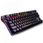 Оригинал RK G-87 87keys Wireless Bluetooth 3.0 USB-проводной Dual Mode Механический Gaming Клавиатура Brown Switch