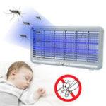 Оригинал 8W Электрический LED Москитовый летающий насекомое-манипулятор Zapper Control Лампа Промышленный закрытый AC220V