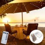 Оригинал Батарея Powered Patio Umbrella 104 LED Fairy Holiday String Light с 8 режимами Кнопка переключения