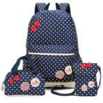 Оригинал 3шт.ДетиШколаСумкиТочечный рюкзак Кемпинг Сумка для путешествий Nylon Крестообразное тело Сумка