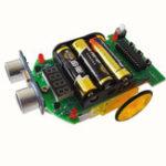 Оригинал 3Pcs D2-4 Интеллектуальное колебание Авто DIY Набор Ультразвуковой измерительный модуль 10,8 см * 7 см Размер платы