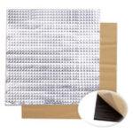 Оригинал 5шт 300x300x10mm Фольга Самоклеющаяся теплоизоляция Хлопок для 3D-принтера Подогреваемая кровать