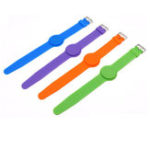 Оригинал 125Khz T5577 Writable Silica Гель Wristband RFID Tag Bracelet Adjustable Длина Контроль доступа