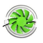 Оригинал 3 Pin Бесшумный Низкий уровень шума охладителя охлаждения охлаждающего вентилятора для LGA 1155/2011/775 AMD 2/2 + / 3 +