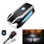 Оригинал XANESBL073В1650LM XPG Передний фонарь 120db Bell Alarm ABS 3 режима 1200mAh USB аккумуляторная Водонепроницаемы MTB Велосипедная фара