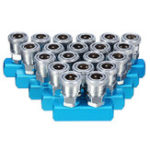 Оригинал MachifitC-typePneumaticКоннекторSMVSMY Круглая тройная SML Trachea Quick Joint Compressor Fittings