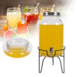 Оригинал 5.5LнапитокДиспенсердлянапиткови подставка для напитков Сок для воды Detox Glass Банка