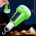 Оригинал 12W E27 Портативный Солнечная Powered USB Charge LED Фонарик аварийной лампочки На открытом воздухе Лампа AC220V