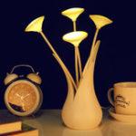 Оригинал НовинкаUSBLEDVaseNightLight Датчик Светлый декоративный стол Лампа Интеллектуальное цветочное освещение