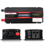Оригинал 6000W Peak Power Inverter LCD Дисплей DC 12 / 24V to AC 110V / 220V Модифицированный преобразователь синусоидальной волны