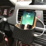 Оригинал Bakeey2в1QiБеспроводной Авто Зарядное устройство Держатель для телефона хранения Коробка для iPhone XS MAX XR S9 Примечание 9