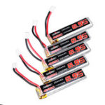 Оригинал 5Pcs URUAV 3.8V 250mAh 40C / 80C 1S Lipo Батарея PH2.0 Штекер для Eachine US65 UK65 QX65 URUAV UR65