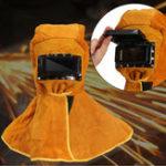 Оригинал Солнечная Автомат для защиты от шнеков Фильтр для сварки Объектив Кожаная сварка Safe Маска