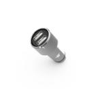 Оригинал Xiaomi Mi LP Steel Mate Dual USB 3.1A Многофункциональный Smart Авто Зарядное устройство