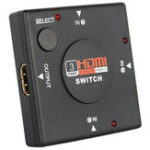 Оригинал 3 в 1 конвертер адаптера HDMI Switcher