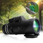 Оригинал 40×60МонокулярНаоткрытомвоздухеКемпинг Телескоп HD Zoom Пешеходное ночное видение