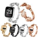Оригинал KALOADЗаменаметаллаSmartWatchСтандарты Женское Браслет Ремень Ремень для ПоместитьсяbitVersa Smart Watch