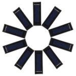 Оригинал 10X Micro Солнечная Панели для Солнечная Power Mini Солнечная Ячейки DIY Электрические игрушки Материалы Ячейки Солнечная Панель