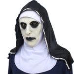 Оригинал The Nun Horror Маска Hood Valak Halloween Prop Косплей костюмы Prop Party