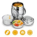 Оригинал 1.6L/2LУкупорочнаяизоляцияиз нержавеющей стали Бочка с лимонным дозатором Bento Lunch Коробка