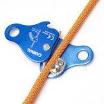 Оригинал CAMNALАлюминиевыйсплавАльпинизмВеревкаGrab Self-Locking Медленный Descender альпинизм для 8-13mm Веревка