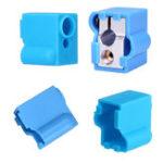 Оригинал Синий блок нагрева вулкана Силиконовый Защитный Чехол для 3D-принтера Часть V6 Hotend