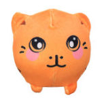 "Оригинал 3.5 ""Squishamals Tiger Squishy Вспененный фаршированный Squishimal Toy Slow Rising Plush Toy Кулон"