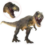 Оригинал Яркие тираннозавры Рекс Юрские игрушки динозавров Рисунок животных Модель Kid Halloween Science Toy