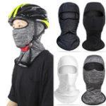 Оригинал SilkCyclingHeadScarfFaceМаска Sunproof Анти UV Breathable Men Женское На открытом воздухе Головной убор