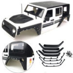 Оригинал 8PCS Xtra Speed ​​ARMOR Fender Flare Комплект для Jeep Body 4WD RC Crawler Авто Запчасти