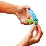 Оригинал WonderНогтиClipperFastEasySafe с Светодиодный Painless Professional Ногти Триммер 150 градусов вращения