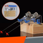 Оригинал 1 Комплект DIY Лодка Пропеллер Набор Водный корабль Мотор Вал модели RC Хобби Ручная обучающая игрушка