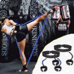 Оригинал 40ФунтовЭластичныйВеревкаУпражнениена ногу Ремень Спортивный повязку Yoga Прогулка по ловкости ловкости Веревка
