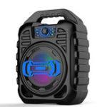 Оригинал Bakeey Беспроводная Bluetooth Динамик Kalaoke Colorful Стереофоническая карта TF FM Радио Портативный динамик