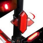 Оригинал XANESTL17ВелоспортВелосипедLightPC ABS 500mAh HB COB LED 5 режимов Зарядка USB IPX5 Водонепроницаемы 360 ° Поворот ночного фонаря