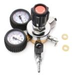 Оригинал Регуляторы CO2 Редуктор давления для пива W21.8 Двойной калибровочный регулятор