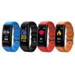 """Оригинал XANESB060,96""""IPSЦветнойсенсорный экран Smart Bracelet IP67 Водонепроницаемы Шагомер Сердце Оценить кровяное давление Sleep Монитор Фитн"""