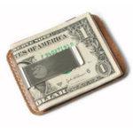 Оригинал КожаныйдержателькартыКредитнаякартаЧехол На открытом воздухе Кемпинг Кошелек Clip Business Travel ID Card Коробка