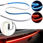 Оригинал 120 см 10 Вт LED Поток Тип Авто Задний фонарь багажника Полоса пропускания заднего хода Тормозной сигнал обратного хода Flash