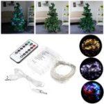 Оригинал LUSTREON 5M 10M USB Батарея Powered LED Fairy String Light с Дистанционное Управление для рождественских каникул