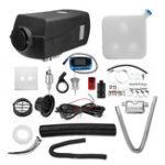 Оригинал 12V 8kw Diesel Air Нагреватель Парковка Нагреватель Набор LCD Переключатель с 10L Tank & Silencer & Дистанционное Управление