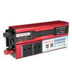 Оригинал 500W DC 12V / 24V для переменного тока 110V / 220V Модифицированный инвертор синусоидальной мощности 4 USB